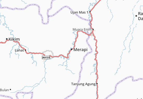 Merapi Map