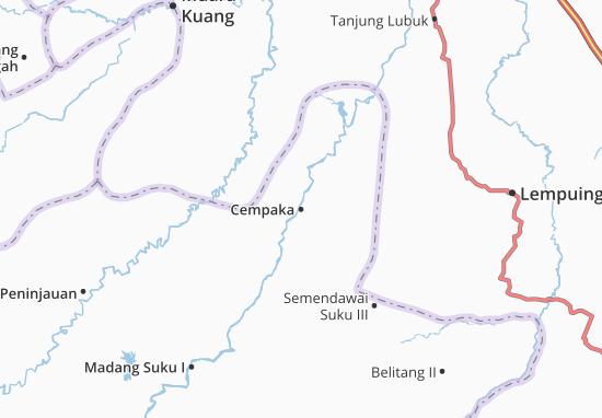 Cempaka Map