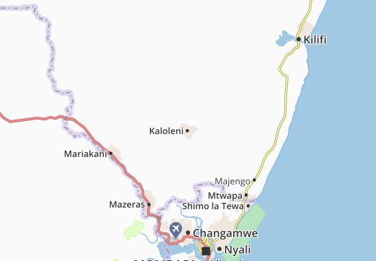 Mapas-Planos Kaloleni