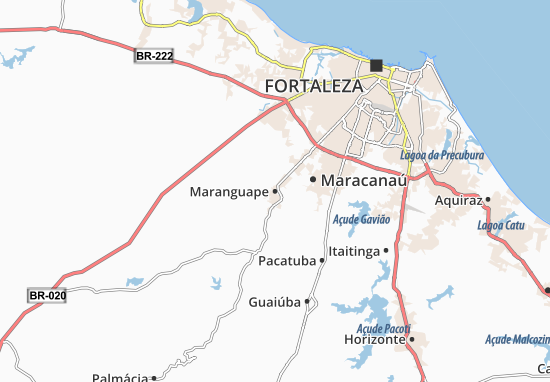 Maranguape Map