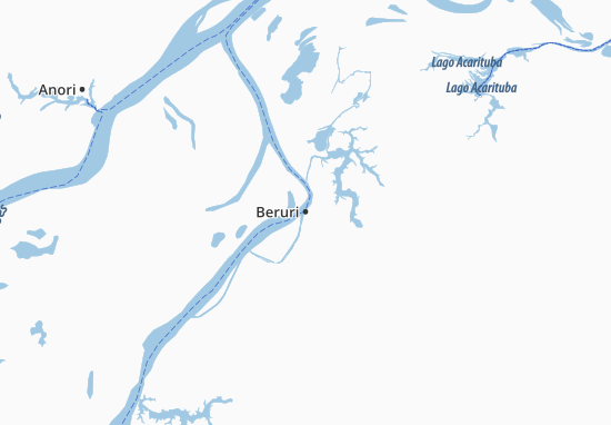 Beruri Map