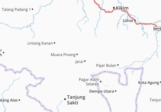 Muara Pinang Map