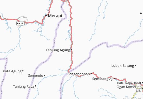 Tanjung Agung Map
