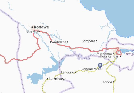 Carte-Plan Pondidaha