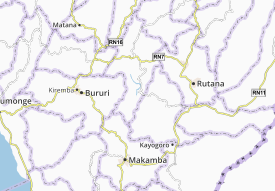 Burambi Map