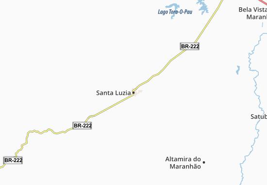 Mapas-Planos Santa Luzia