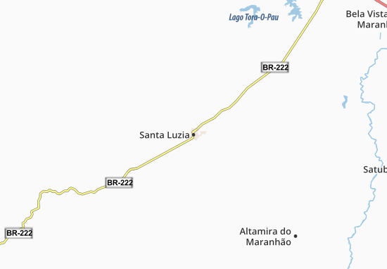 Santa Luzia Map