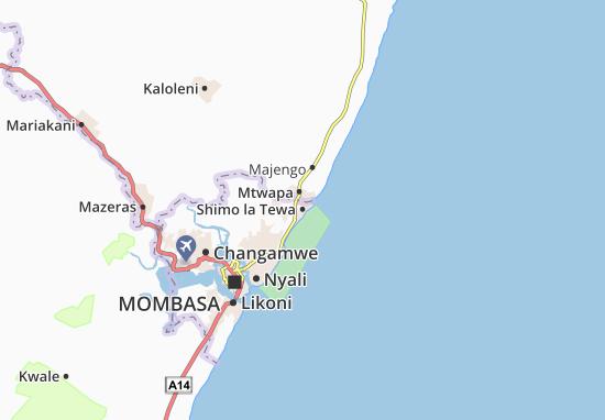Mapas-Planos Shimo la Tewa