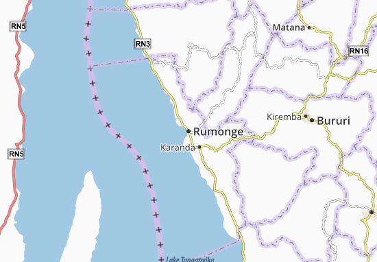 Mapas-Planos Rumonge