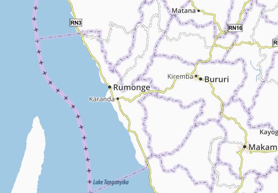 Mapa Plano Buruhukiro