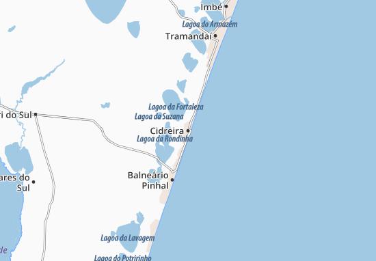 Cidreira Map