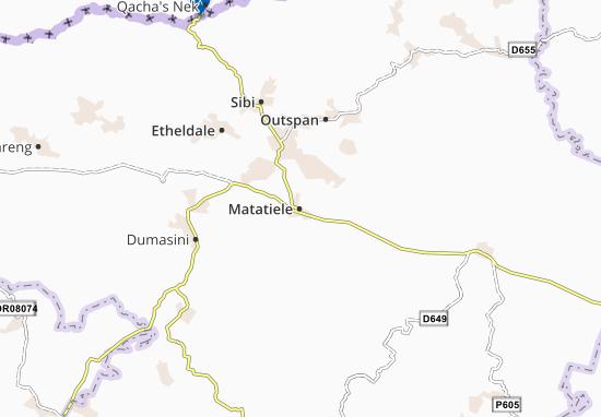 Matatiele Map