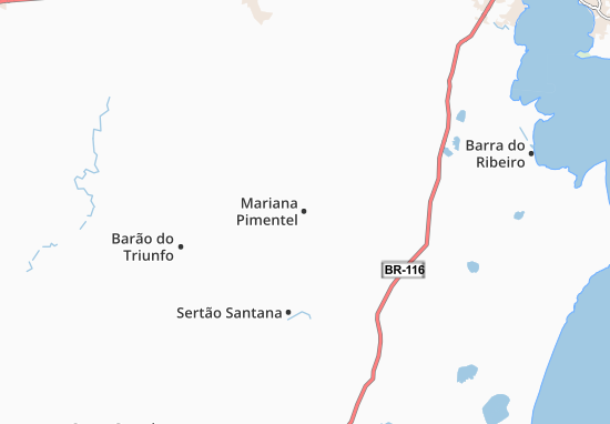 Carte-Plan Mariana Pimentel
