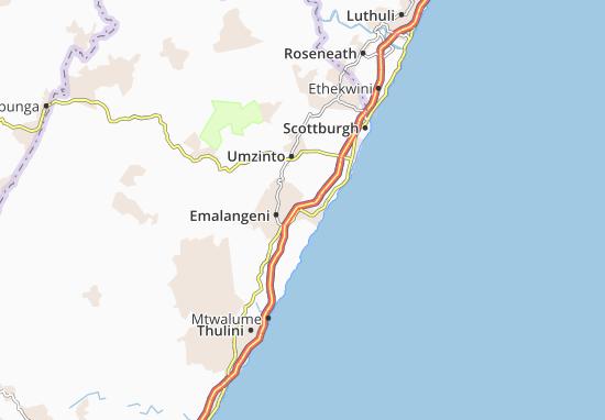 Umdoni Map