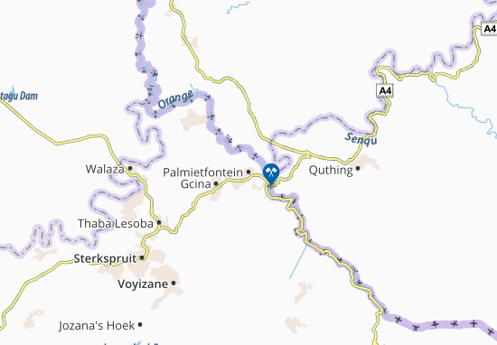 Carte-Plan Palmietfontein