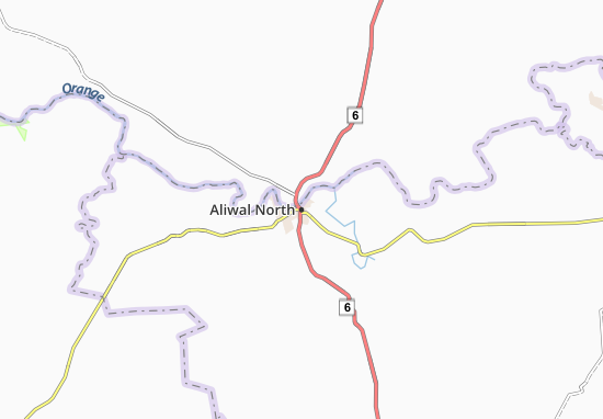 Carte-Plan Aliwal North