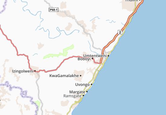 Murchison Map