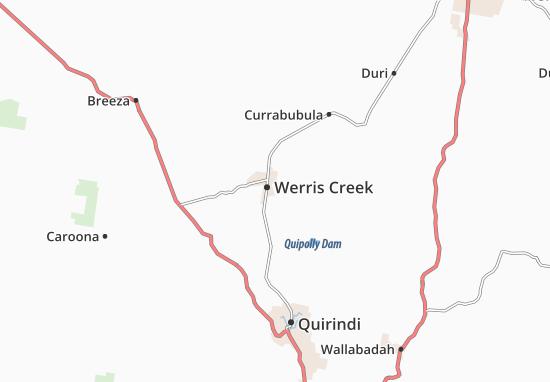 Mapas-Planos Werris Creek