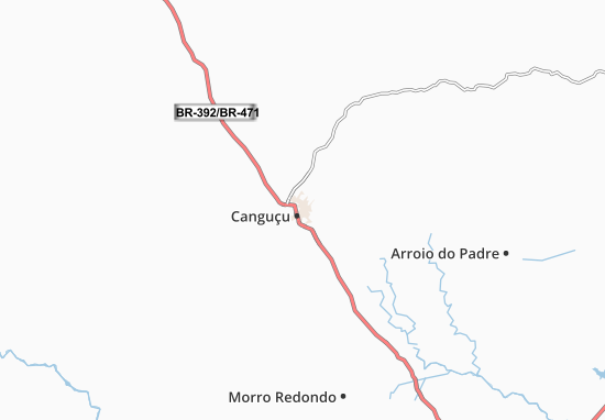 Canguçu Map