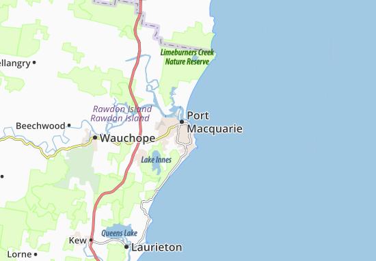 Port Macquarie Map