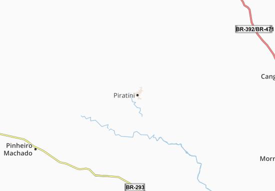 Piratini Map