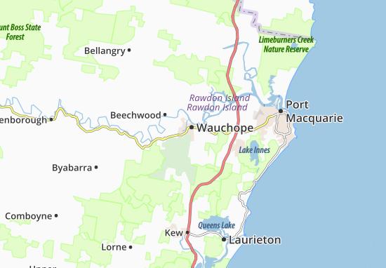 Wauchope Map