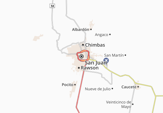 Mapa Plano San Juan