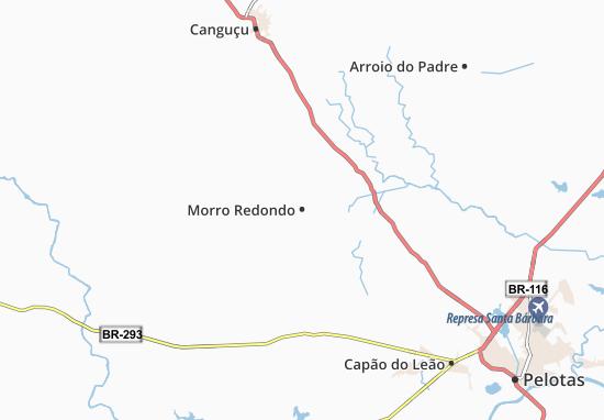 Morro Redondo Map