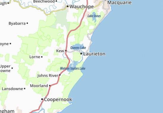 Laurieton Map