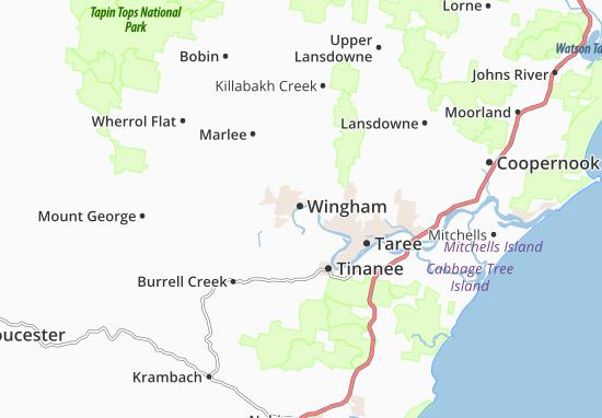 Wingham Map