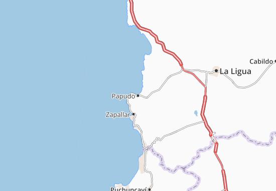 Mappe-Piantine Papudo
