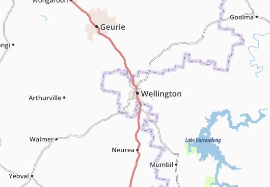 Carte-Plan Wellington