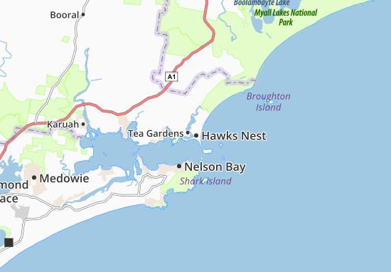 Hawks Nest Map