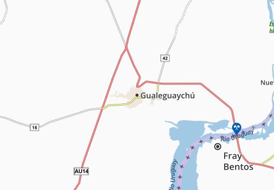Mapa Plano Gualeguaychú