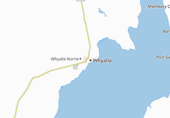 Whyalla Map