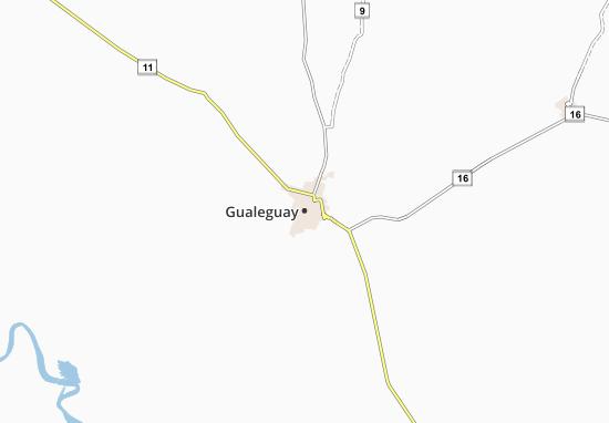 Carte-Plan Gualeguay