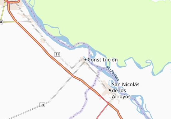 Mappe-Piantine Constitución