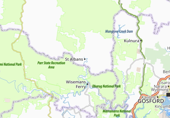 St Albans Map: Detailed maps for the city of St Albans - ViaMichelin