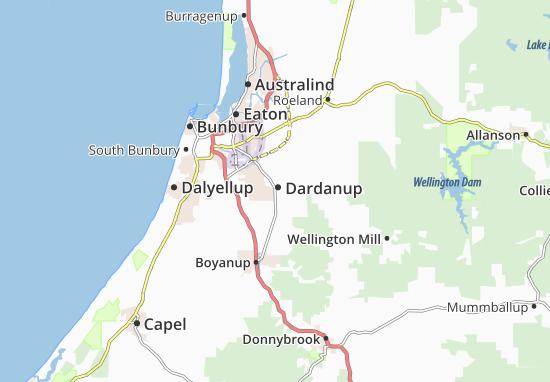 Dardanup Map