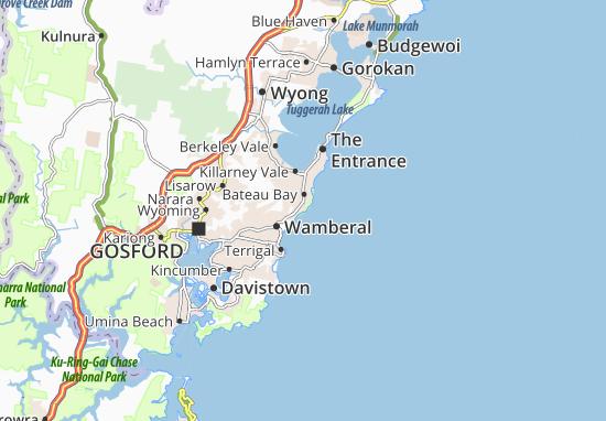 Wamberal Map