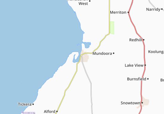 Carte-Plan Port Broughton