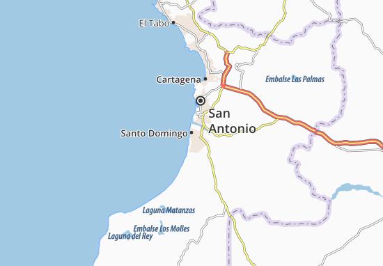 Map Of Santo Domingo Michelin Santo Domingo Map ViaMichelin - Santo domingo map
