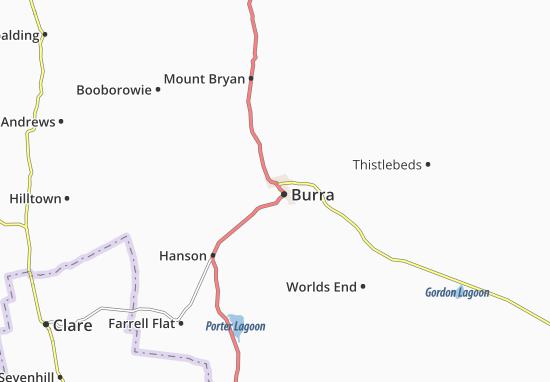 Burra Map