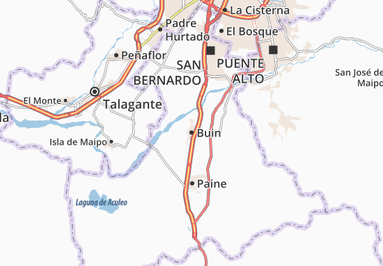 Buin Map