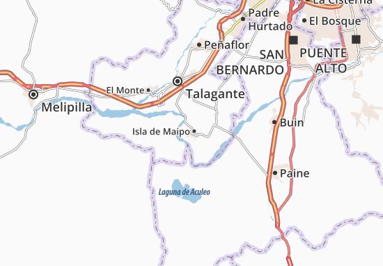 Mappe-Piantine Isla de Maipo