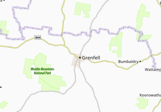 Carte-Plan Grenfell