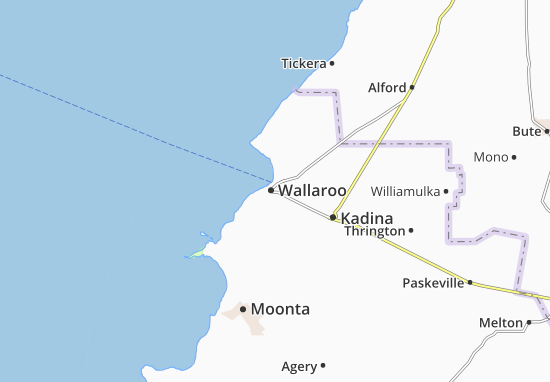 Wallaroo Map