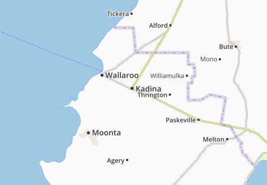 Kadina Map