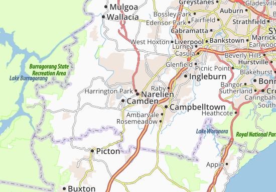 Narellen Map