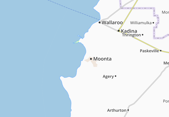 Port Moonta Map